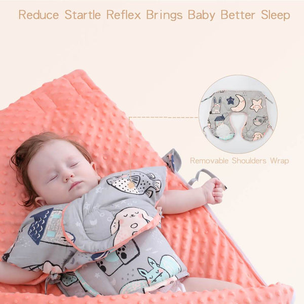 Oversized Autumn/Winter Pure Cotton Warm Soft Blanket Sleeping bag for Newborn Baby