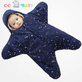 New Fashion Star Style 100% Cotton Warm Soft Blanket Sleeping bag for Newborn Baby