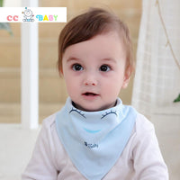 Cute Baby Bibs Newborn Toddler Triangle Scarf Infant Bandana Drool Bibs Burp Cloths Saliva Towel - ccbabe