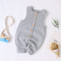 knitted baby jumpsuits