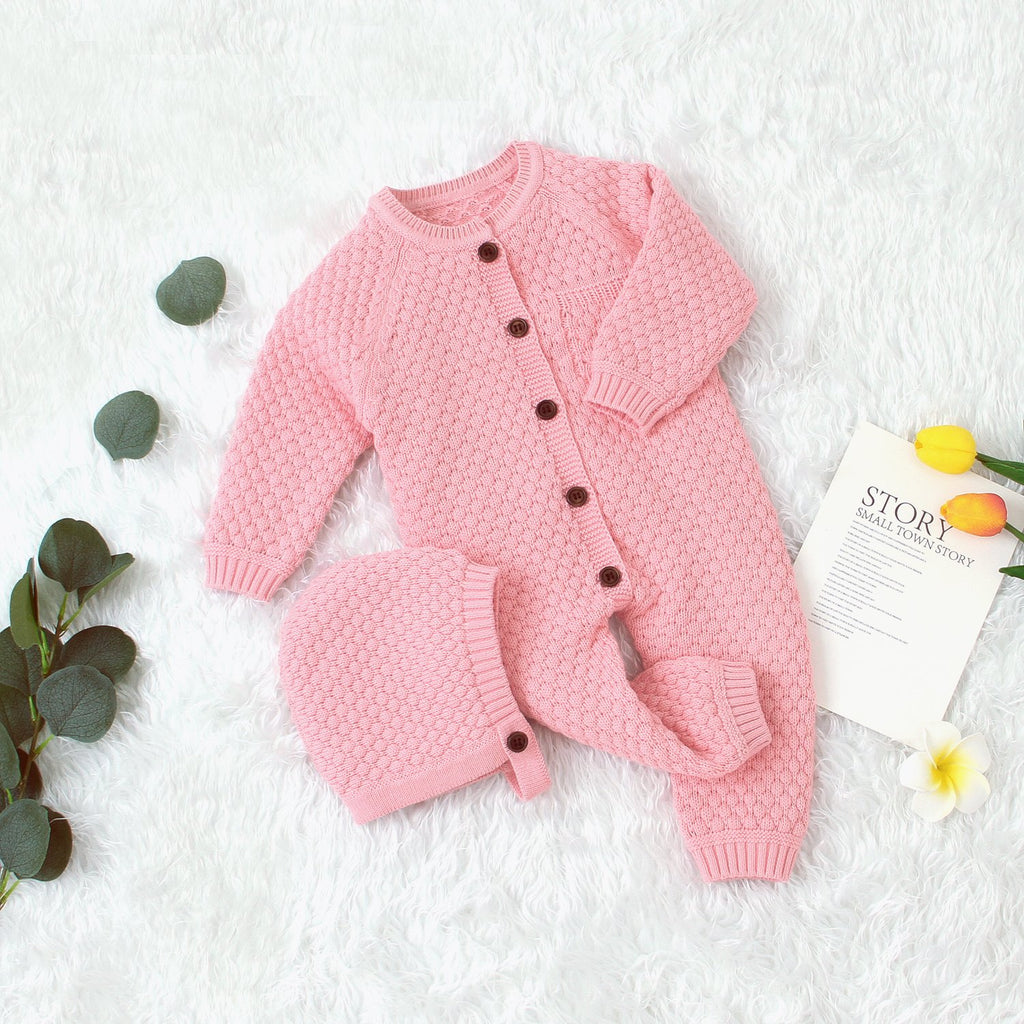 Baby Boy Romper Toddler Girl Knit Footies Jumpsuit - ccbabe