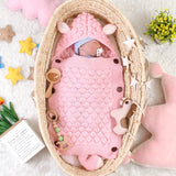 Newborn Baby Knit Sleeping Bags Easter Gift Toddler Wearable Swaddle Sleep Sack - ccbabe