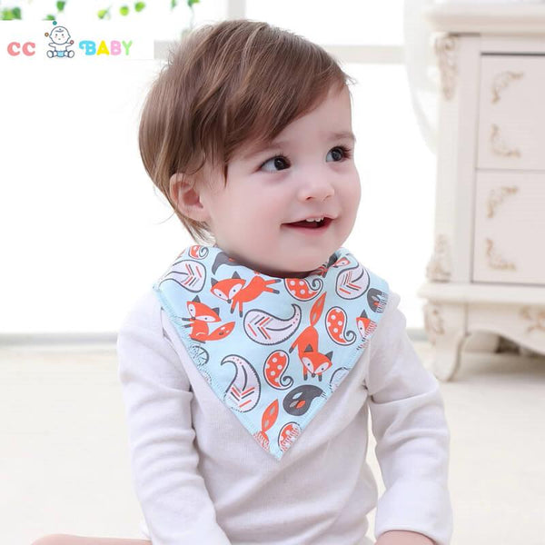 Baby Bibs Baby Bandana Drool Bibs Newborn Toddler Triangle Scarf Infant Bandana Drool Bibs Burp Cloths Saliva Towel