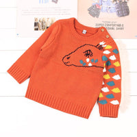 Baby Kid's Pullover Knit Sweater Newborn Solid Horse Shape Arm Tops - ccbabe