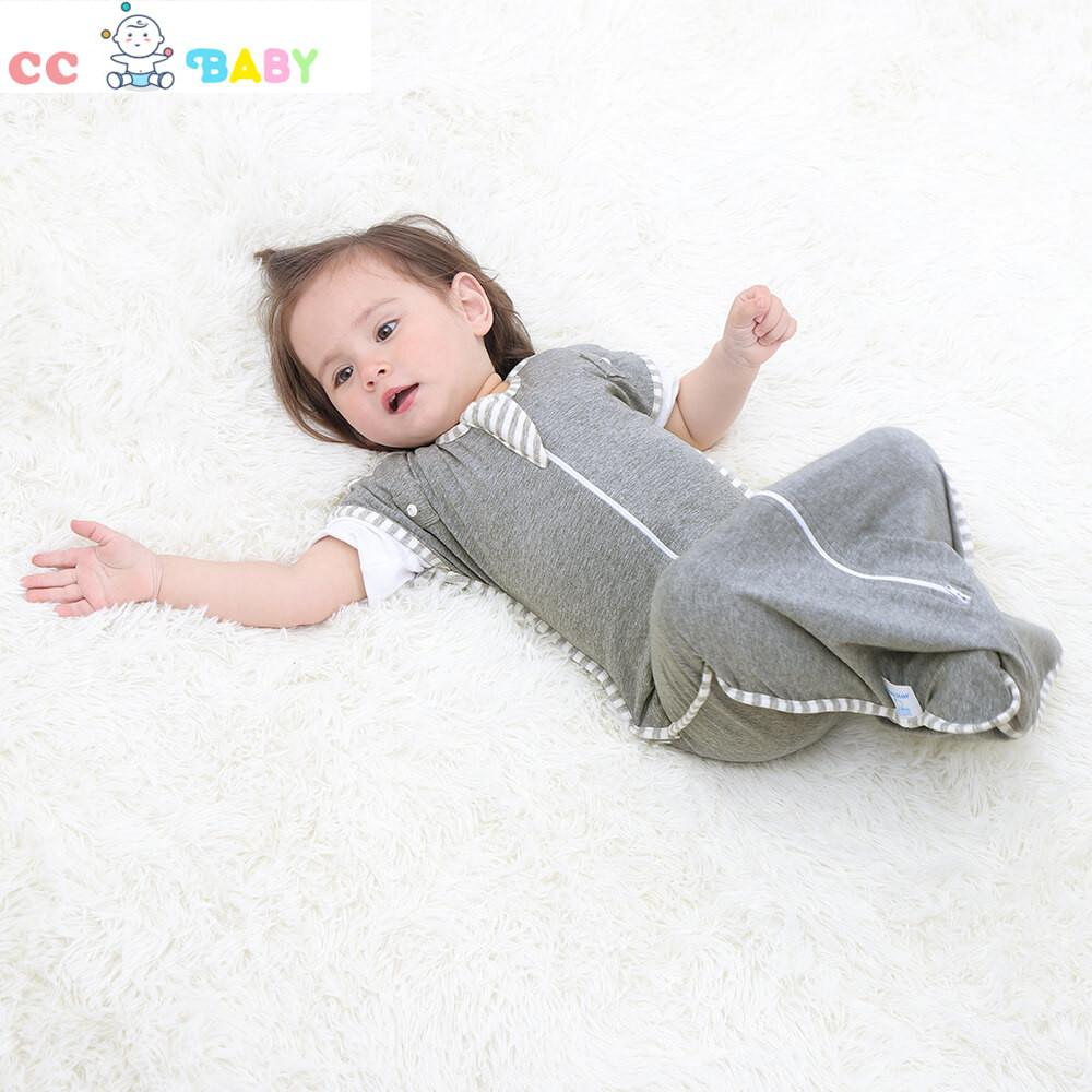 Baby Boys and Girls Pure Cotton Colorful Elasticized and  Detachable Sleeping Bag - ccbabe