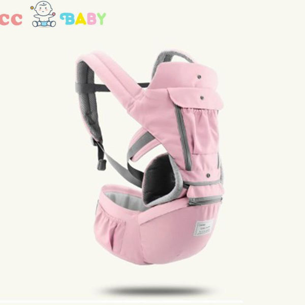 Baby Soft Carrier Ergonomic Hip Seat Carrier Waist Stool Perfect for Hiking Shopping Travelling All Season - ccbabe