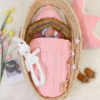 3-7 Days Delivery Newborn Baby Wrap Swaddle Blanket Knit Sleeping Bag - ccbabe