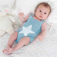 Baby Boys Pullover Knit Sweater Newborn With Cute Cartoon Star