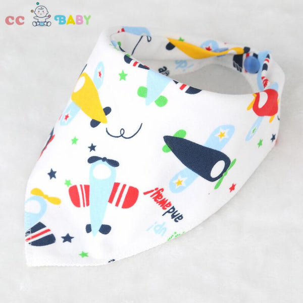 Cartoon Bibs Newborn Toddler Triangle Scarf Infant Bandana Drool Bibs Burp Cloths Saliva Towel