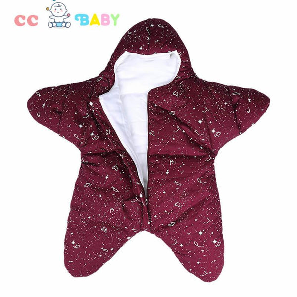 New Fashion Star Style 100% Cotton Warm Soft Blanket Sleeping bag for Newborn Baby - ccbabe