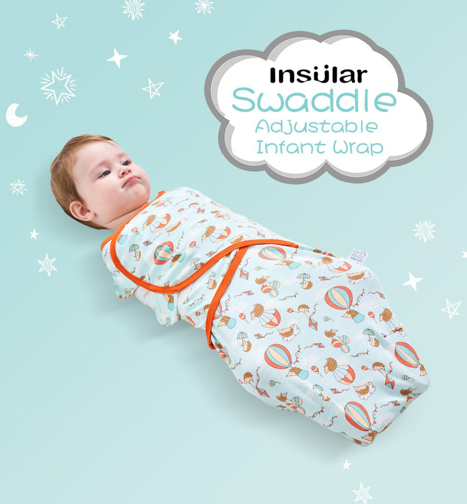 Two Pieces Newborn Baby Cartoon Pure Cotton Infant Sleeping Bag - ccbabe