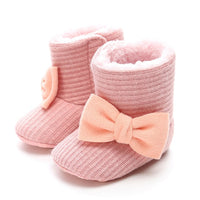 Toddler Newborn Baby Crawling Shoes Booties Boy Girl Slippers Prewalker Trainers Fur Winter Flower First Walker