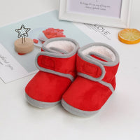 Winter Plus Velvet Baby First Walkers Girl Shoes Casual Booties Toddler Crib Shoes Warm Baby shoes