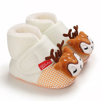 Baby Girls Boy First Walkers Soft Infant Toddler Shoes Cute Cartoon Crib Shoes Footwear Newborns Baby Shoes