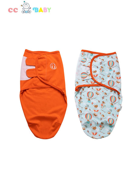 Two Pieces Newborn Baby Cartoon Pure Cotton Infant Sleeping Bag