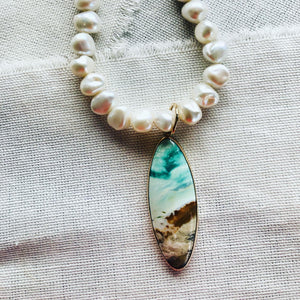 Blue Opalized Fossilized Indonesian Wood