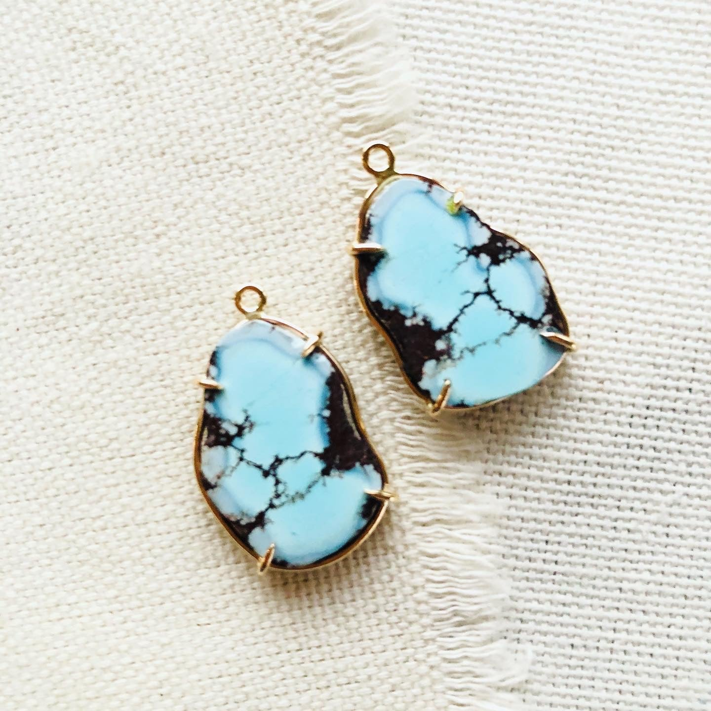 Kazakhstan Turquoise Earrings