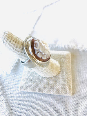 Cameo Shell Ring