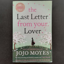 Load image into Gallery viewer, Jojo Moyes - The Last Letter from your Lover