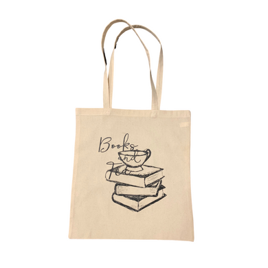 Books and Tea - Tote Bag