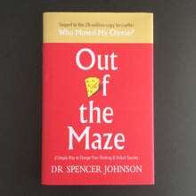 Load image into Gallery viewer, Dr. Spencer Johnson - Out of the Maze