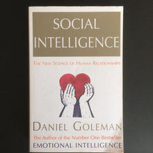 Load image into Gallery viewer, Daniel Goleman - Social Intelligence