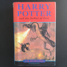 Load image into Gallery viewer, J.K. Rowling - Harry Potter and the Goblet of Fire