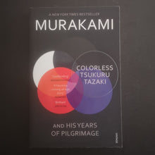 Load image into Gallery viewer, Haruki Murakami - Colorless Tsukuru Tazaki and His Years of Pilgrimage