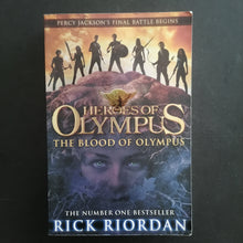 Load image into Gallery viewer, Rick Riordan- Heroes of Olympus: The Blood of Olympus