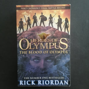 Rick Riordan- Heroes of Olympus: The Blood of Olympus