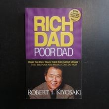 Load image into Gallery viewer, Robert Kiyosaki - Rich Dad Poor Dad