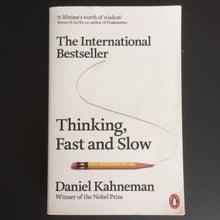 Load image into Gallery viewer, Daniel Kahneman - Thinking, Fast and Slow