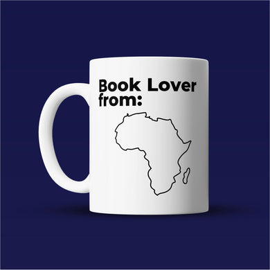 Book Lover from Africa - Bookish Mug