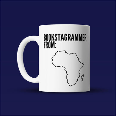 Bookstagrammer from Africa - Bookish Mug