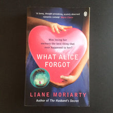 Load image into Gallery viewer, Liane Moriarty - What Alice Forgot