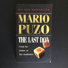 Load image into Gallery viewer, Mario Puzo - The Last Don