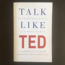 Load image into Gallery viewer, Carmine Gallo - Talk Like TED