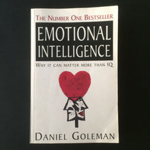 Load image into Gallery viewer, Daniel Goleman - Emotional Intelligence