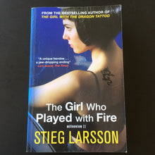Load image into Gallery viewer, Stieg Larrson - The Girl Who Played With Fire
