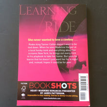 Load image into Gallery viewer, James Patterson - Bookshots : Learning to Ride