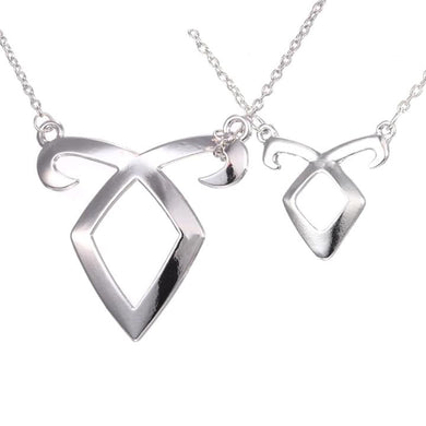 Angelic Power Rune Pendant Necklace