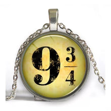 Load image into Gallery viewer, 9 and 3/4 Pendant Necklace