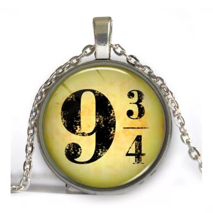 9 and 3/4 Pendant Necklace