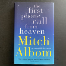 Load image into Gallery viewer, Mitch Albom - The First Phone Call From Heaven