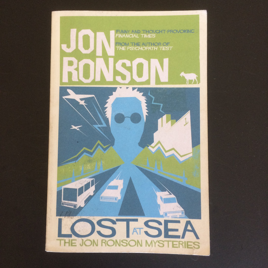 Jon Ronson - Lost at Sea