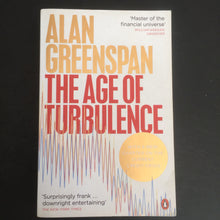 Load image into Gallery viewer, Alan Greenspan - The Age of Turbulence