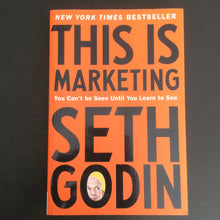 Load image into Gallery viewer, Seth Godin - This is Marketing
