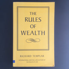 Load image into Gallery viewer, Richard Templar - The Rules of Wealth