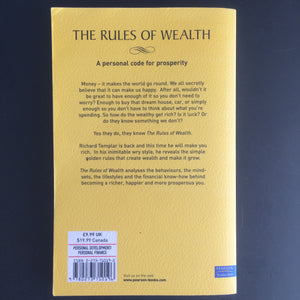 Richard Templar - The Rules of Wealth