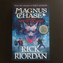 Load image into Gallery viewer, Rick Riordan - Magnus Chase and the Ship of the Dead